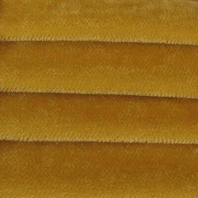 """1/4 yd 600S Pale Apricot INTERCAL 4mm 3/16"""" Sparse Straight German Mohair Fabric"""