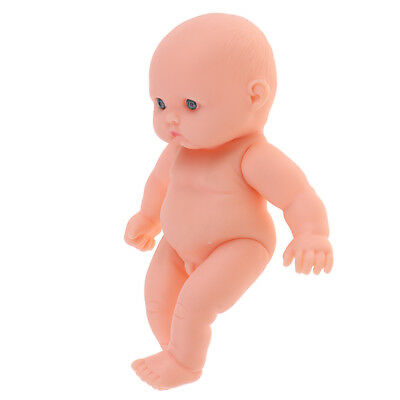 Realistic Baby Boy Doll Vinyl Newborn Infant Simulation Model Toys 11cm