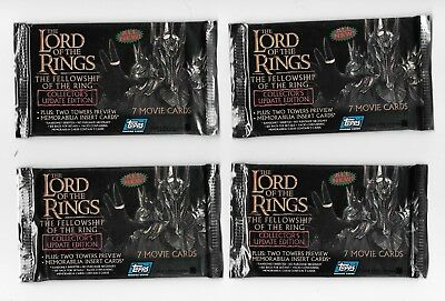 Lord of the Rings LOTR Fellowship Ring Topps Collectors Update Edition Cards NIP