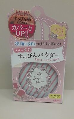 NEW  Club Suppin Powder, Pastel Rose Fragrance 2.6g Japan