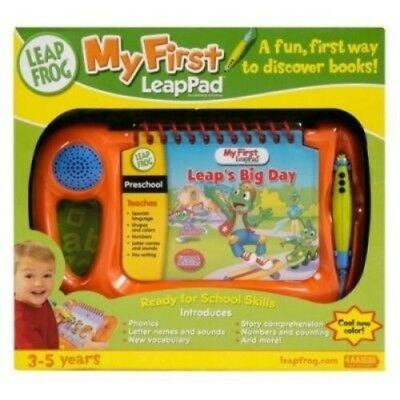 LEAP FROG My First Leap Pad Learning System Orange Ages 3-5