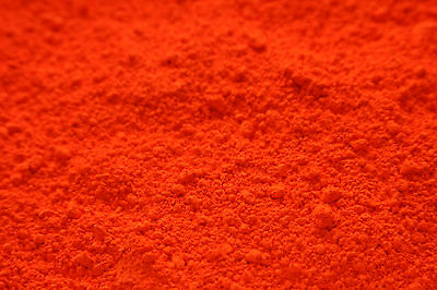 10g FLURO ORANGE MICA - Soap Candle Polymer Clay Making Colour Mineral Powder