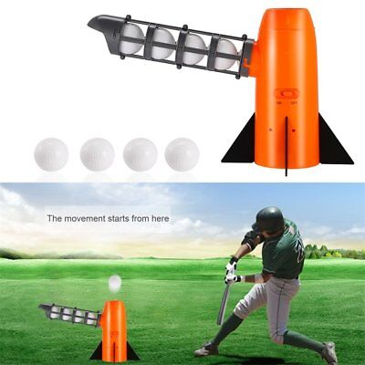 Portable Funny Baseball Automatic Pitching Serving Machine Battery Version W0