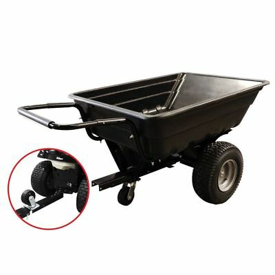 Trailer / Poly Garden Cart Wide Wheel