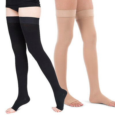 fe66199d366be 20-30 mmHg Compression Stockings Pantyhose Therapeutic Support Open/Close  Toe