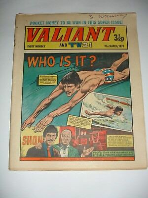 VALIANT And TV 21 comic 31st March 1973