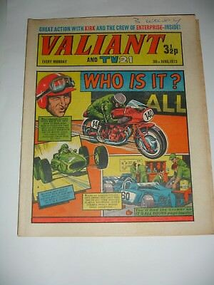 VALIANT And TV 21 comic 30th June 1973