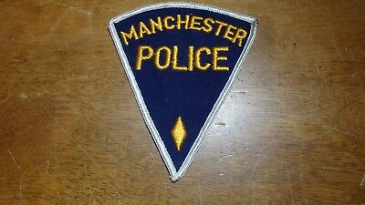 Manchester New Hampshire  Police Unknown State  Obsolete  Patch Bx B #15