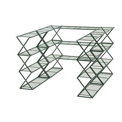 FlowerHouse Shelves Set Metal Portable Greenhouse Free Standing 20-Shelves