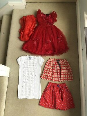 Girls Clothes Bundle size 4-5 yr Dresses, Skirts