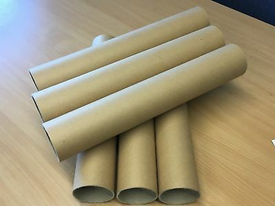 Royal Mail Cardboard postal packing tube 3mm thick extra strong 380 450 570 A3 4