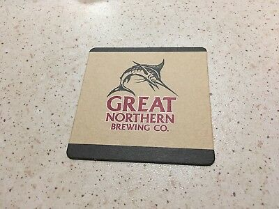 "Collectable drink coasters - ""GREAT NORTHERN ON TAP HERE"" NEW PERFECT CONDITION"