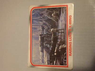1980 VINTAGE SCANLENS - Star Wars Empire Strikes Back Trading Card Number 71