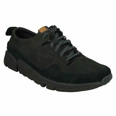 MENS CLARKS CASUAL Lace Up Trainers 'Tri Native' $121.46