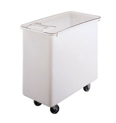 Cambro IB36148 34 Gallon Sliding Cover Ingredient Bin w/ Heavy Duty Casters