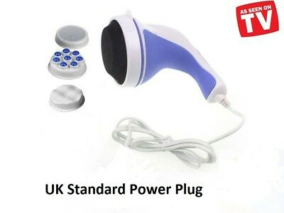 RELAX SPIN /& TONE FULL BODY MASSAGER-PORTABLE AND For SLIMMING PLUG·Neu 4 J2B9