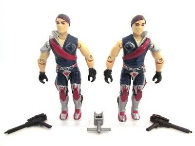 Action Force GI Joe Cobra ☆ TOMAX + XAMOT ☆ Figure Rar Hasbro Vintage 100% TWINS