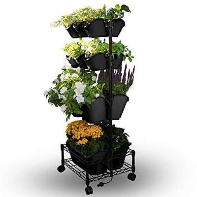Watex Mobile Green Wall- Double Frame Black