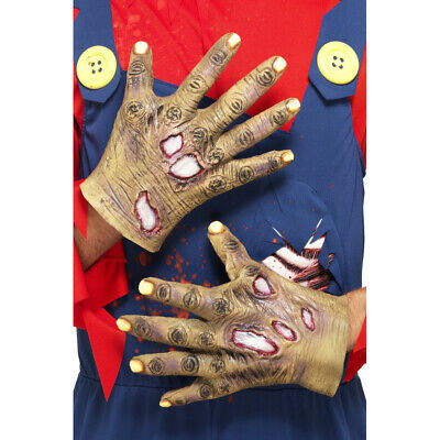 Zombie Hände Latex Halloween Handschuhe Horror Grusel Latexhände Monster