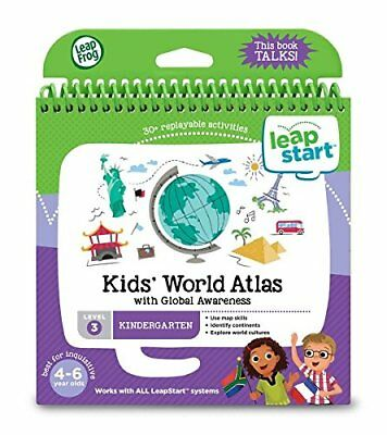 LeapFrog LeapStart Activity Book: Kids' World Atlas and Global Awareness