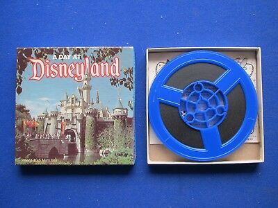 Super  8mm - A Day at  Disneyland  '  200ft  - Colour Sound