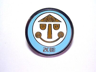 Disney Pin 2018 Dated Park Icons Booster - it's a small world [127301]