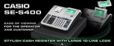 Casio Cash Register Professional Model SE-S400