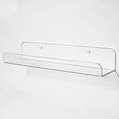 Fantastic Clear Floating Shelves Invisible Contemporary Acrylic Shelf With Rounded Corners Download Free Architecture Designs Embacsunscenecom
