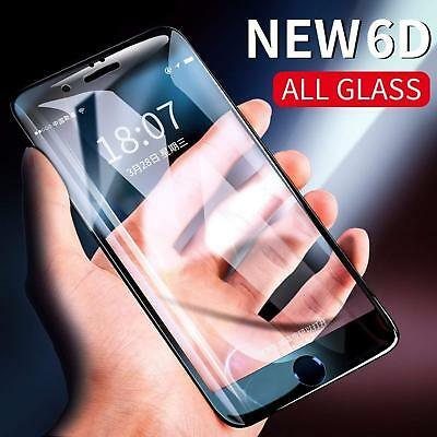 Tempered Glass Full LCD Screen Protector 6D Curved Black For Samsung S8 S9 Plus