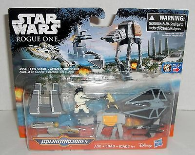 Star Wars Rogue One Micro Machines Assault On Scarif Action Figures