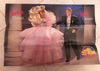 Vintage Barbie POSTER//Barbie and Ken //Barbie Doll Poster//Childrens POSTER//8x10in