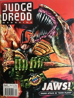 JUDGE DREDD MEGAZINE # 62 / 16th SEP 1994 / FLEETWAY / UK COMIC / V/G / 2000AD
