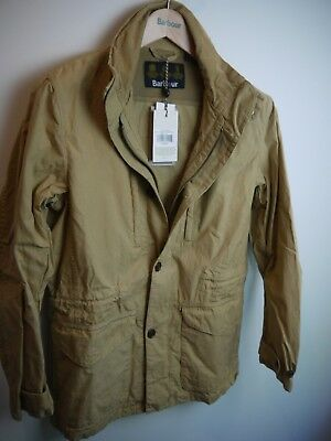 db017ccb5b1 BARBOUR MEN S CUMBRAE Casual Cotton Jacket Stone NWT MSRP  379 ...