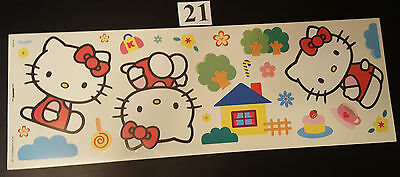Hello Kitty Wandaufkleber, Wandsticker, Wandtattoo