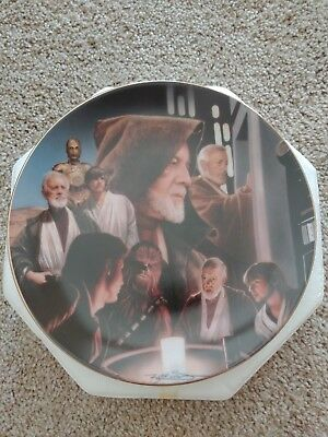 Obi-Wan Kenobi Star Wars Hamilton Collection Plate