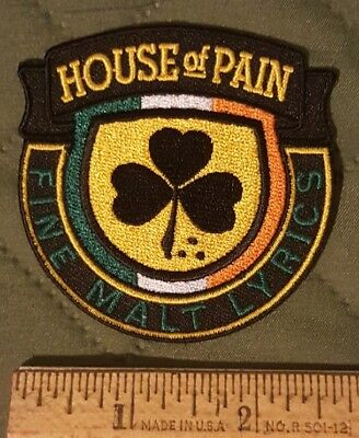 HOUSE OF PAIN Hip Hop IRON PATCH SEW EMBROIDERED