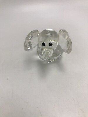 Crystal Elephant Figurines Collectibles Glass Animal Figurine For