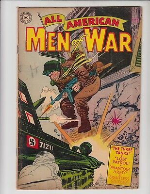 All American Men Of War #13 Vg