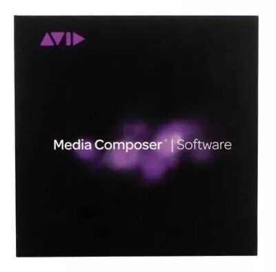Avid Media Composer 8 2018 Perpetual License New, Never Expires