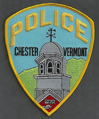 Chester Vermont Police Patch