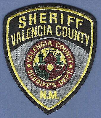 Valencia County Sheriff New Mexico Police Patch New Style