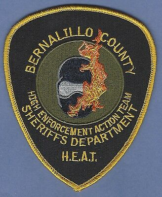 Bernalillo County Sheriff New Mexico Police High Enforcement Action Team Patch