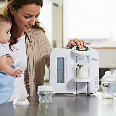 NEW Tommee Tippee Perfect Milk Prep Baby Feeding Antibacteria Machine, White