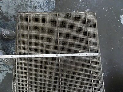 """Stainless Steel Donut Fryer Screens 23"""" x 23""""   10 Pack"""