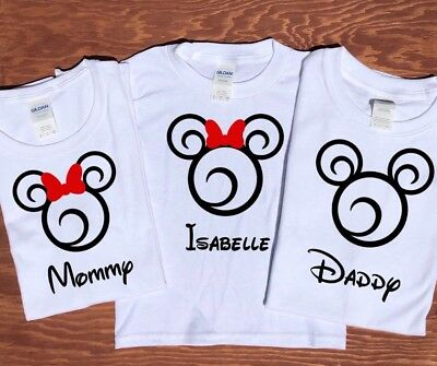 Personalized Disney Family Vacation T Shirt Group Trip Custom Shirts