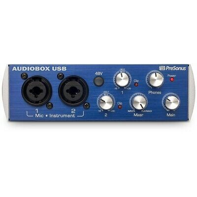 Presonus AudioBox USB Audio Interface W/ Recording Software