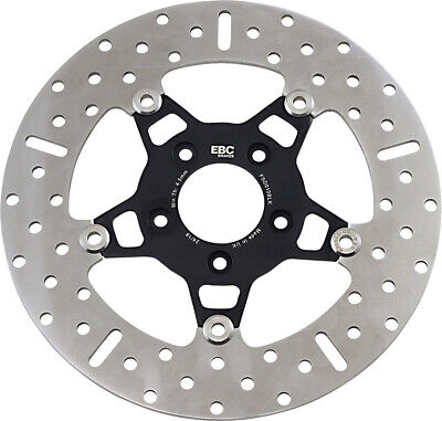 EBC - FSD010BLK - 5 Button Floater Wide Band Brake Rotor- Black