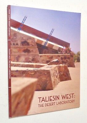 FRANK LLOYD WRIGHT Quarterly 2017 TALIESIN WEST Architecture Charles MONTOOTH