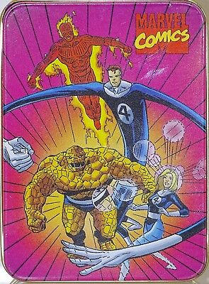 Marvel Comics Fantastic Four Nabasico Collector Tin 1993