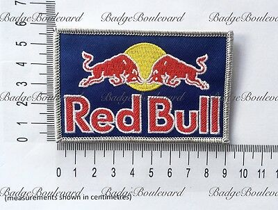 Red Bull Motocross Badge Embroidered Patch